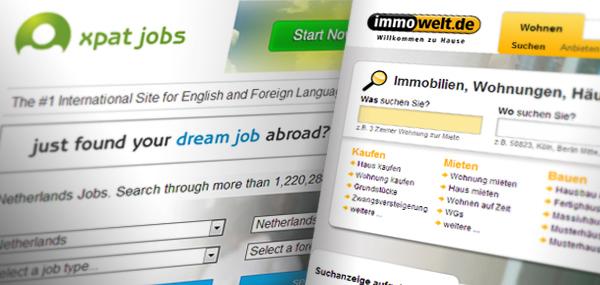 Сайты для поиска работы и жилья в Германии