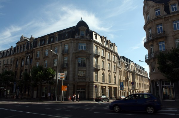 Один день в Люксембурге