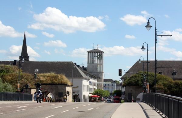 Прогулки по городу Саарлуису