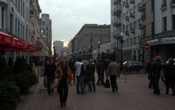 Неделя в Москве