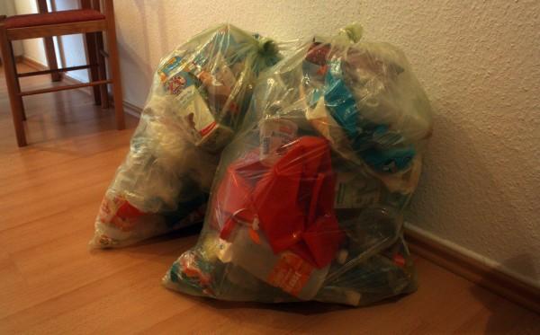 Разделение мусора в Германии