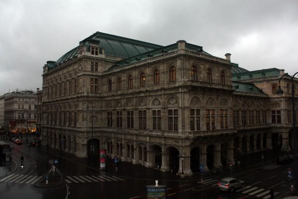 Прогулки по Вене, часть первая. Дорога и первые впечатления.