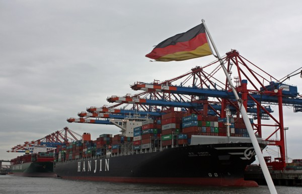 Прогулки по Гамбургу, день 2. Порт