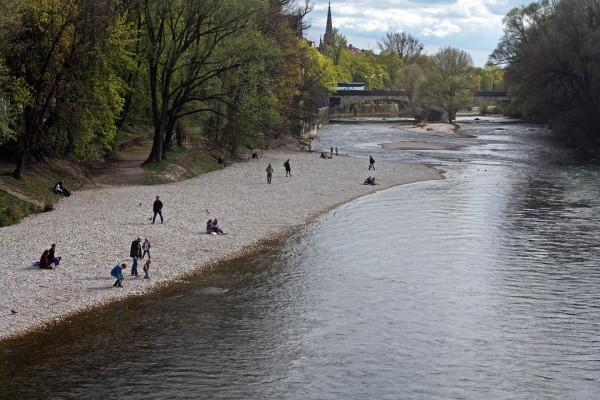 Прогулки по Мюнхену весной