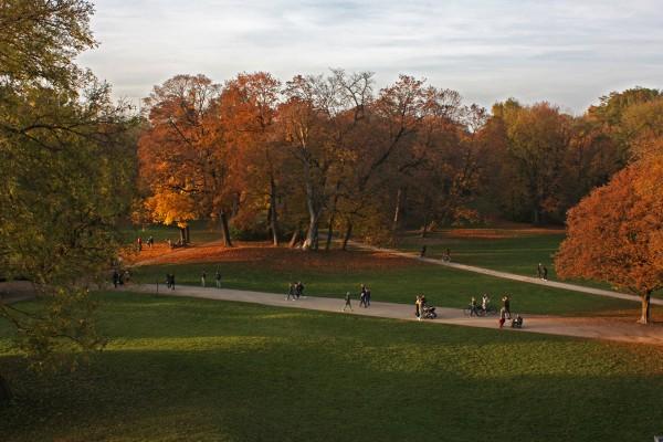 Прогулки по осеннему Мюнхену
