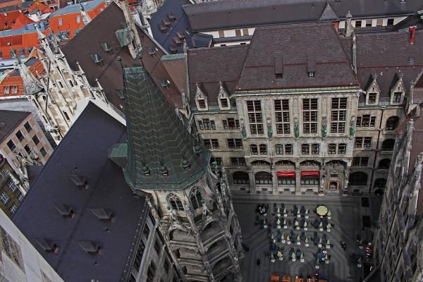 Прогулки по Мюнхену в апреле, панорама