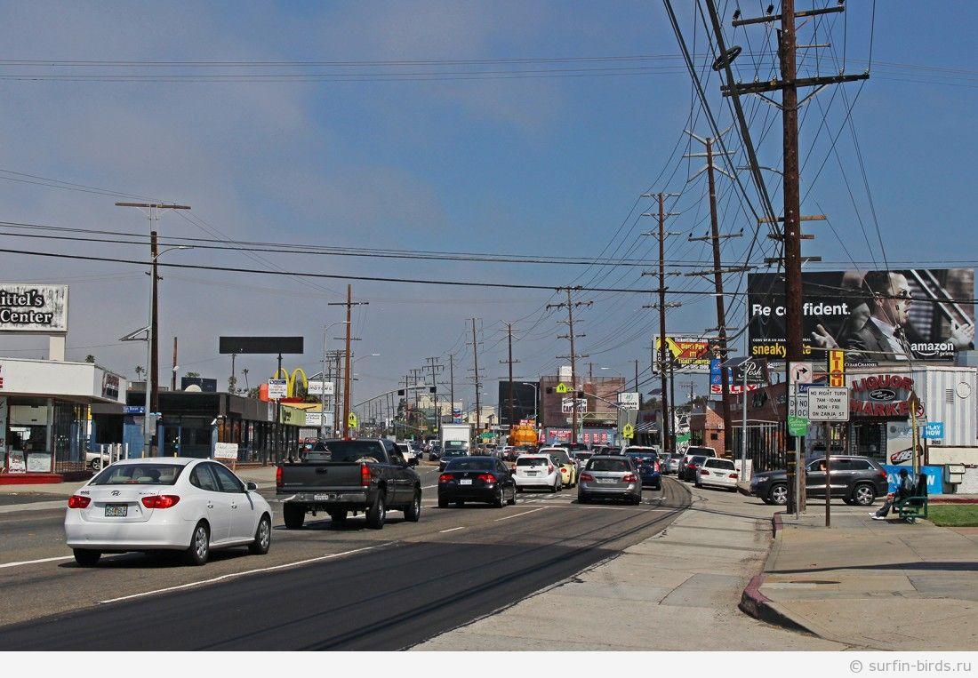 Часть 2. Даунтауны Санта Моники и Лос Анджелеса