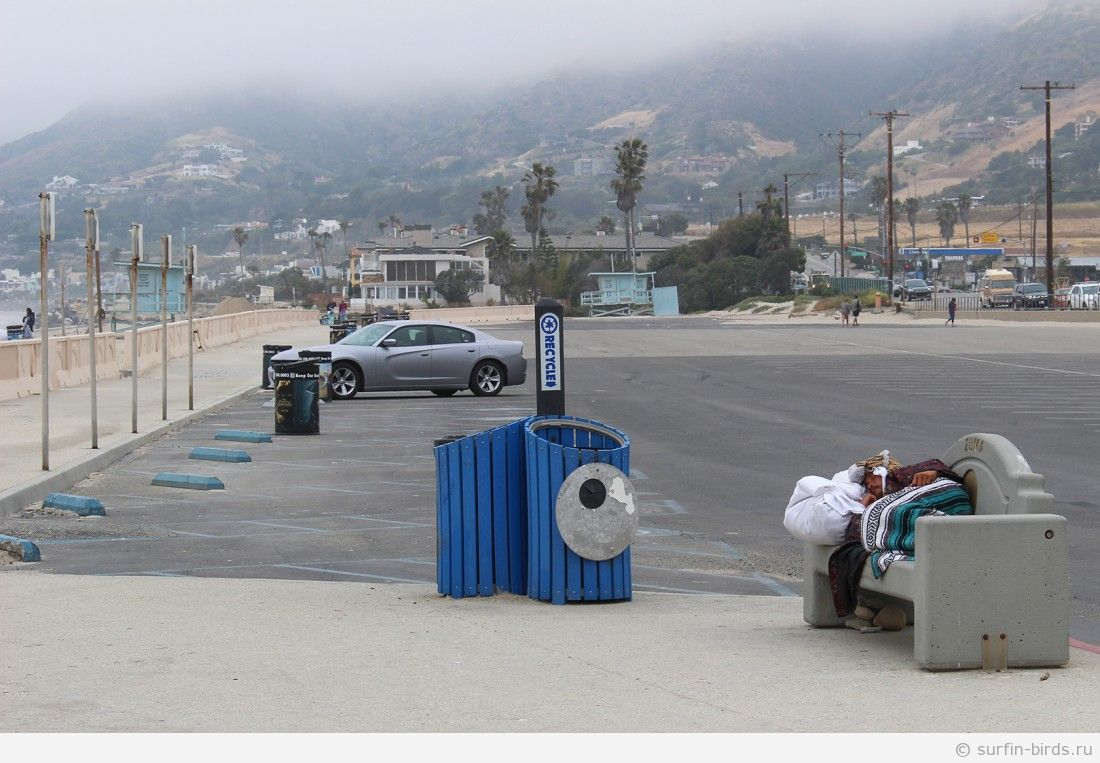 Часть 3. Едем по побережью из Санта Моники до Санта Барбары