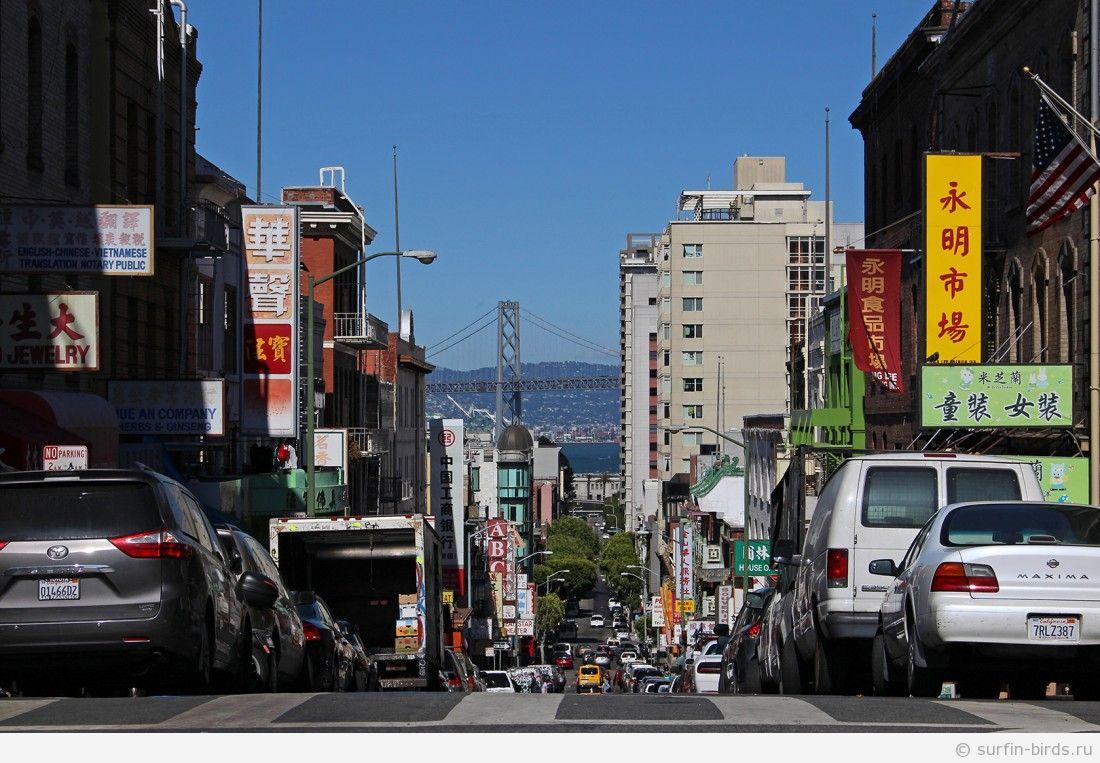 Сан Франциско. Часть 17. Китайский квартал