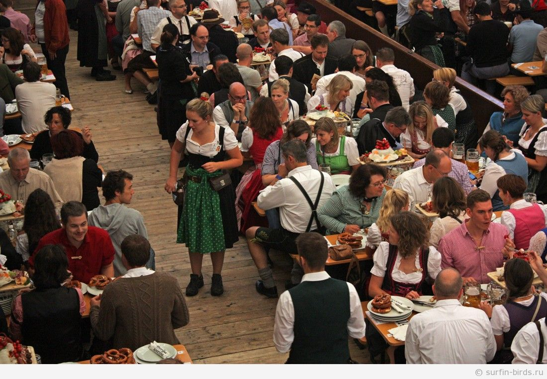 Октоберфест в Мюнхене