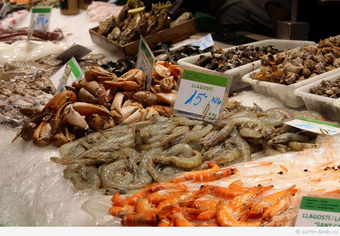 Прогулки по Барселоне, часть 2. Рынок La Boqueria (куча вкусных фоток)