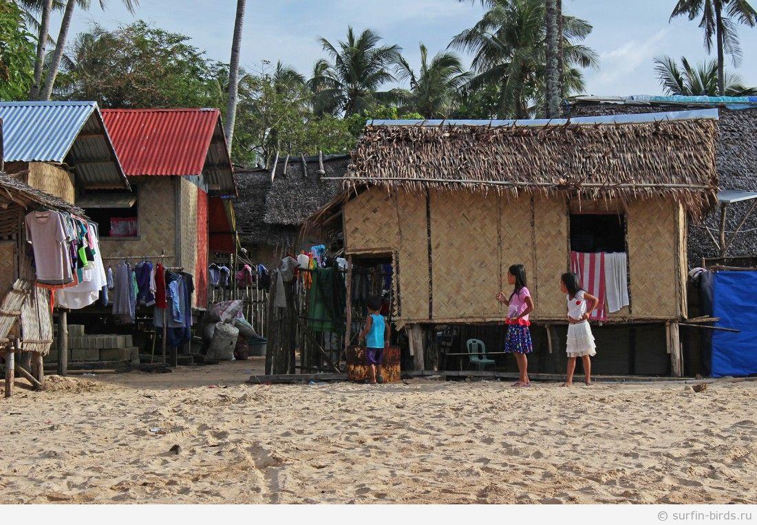 Филиппины, Эль Нидо, часть 5. Пляжи Nacpan и Las Cabanas