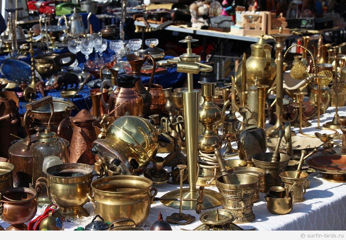 Огромный блошиный рынок в Мюнхене (Riesenflohmarkt)