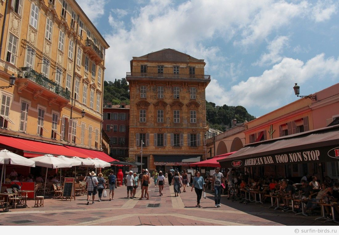 Лазурный берег часть 4, Ницца, первые впечатления и Английская набережная