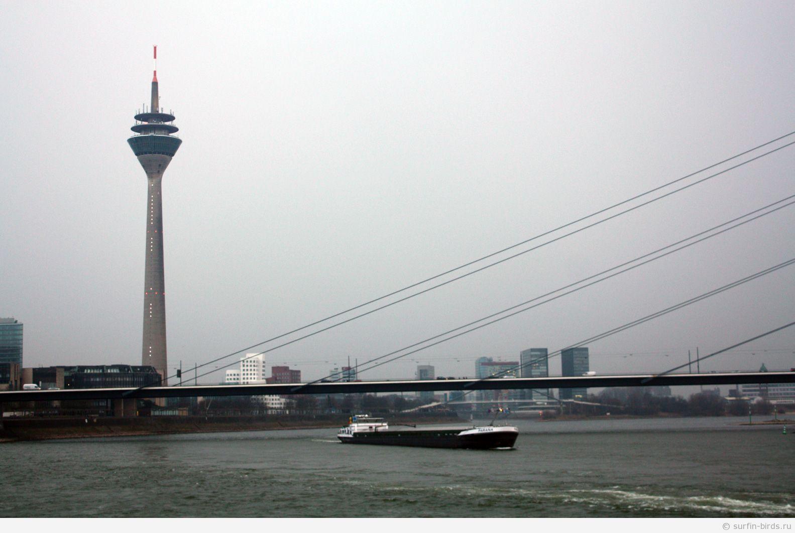 Фотография Дюссельдорфа, Река Рейн