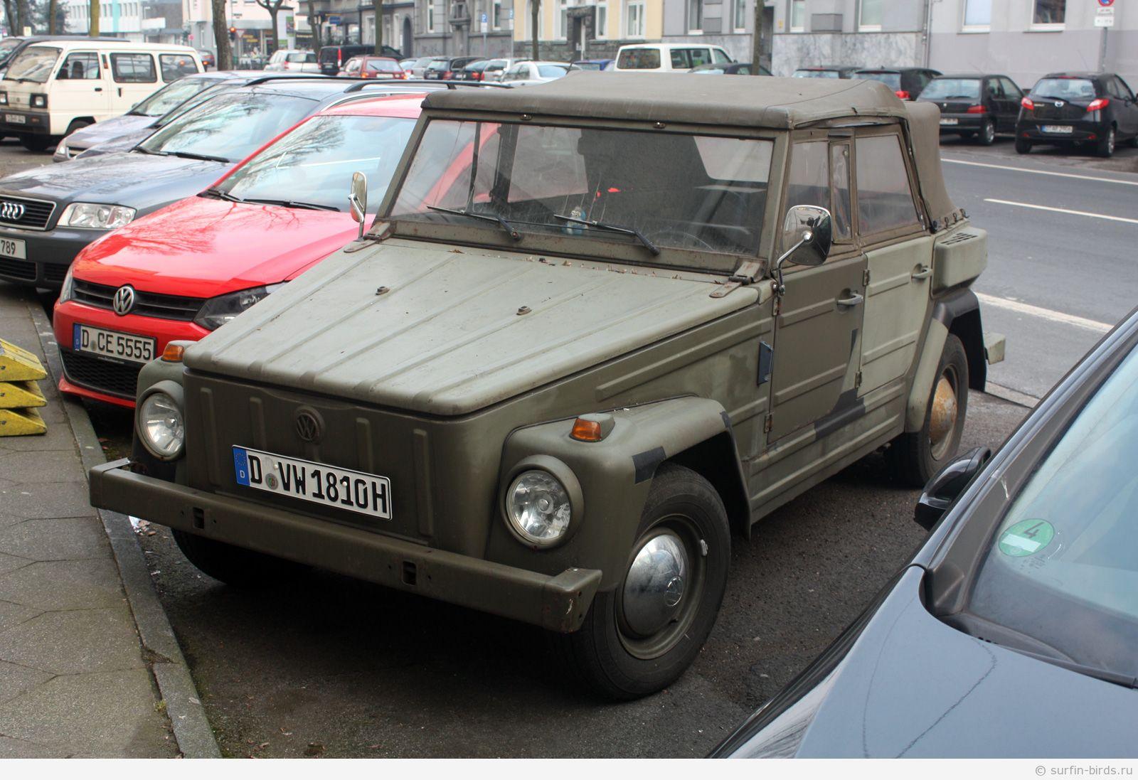 Volkswagen Type 181, Kurierwagen