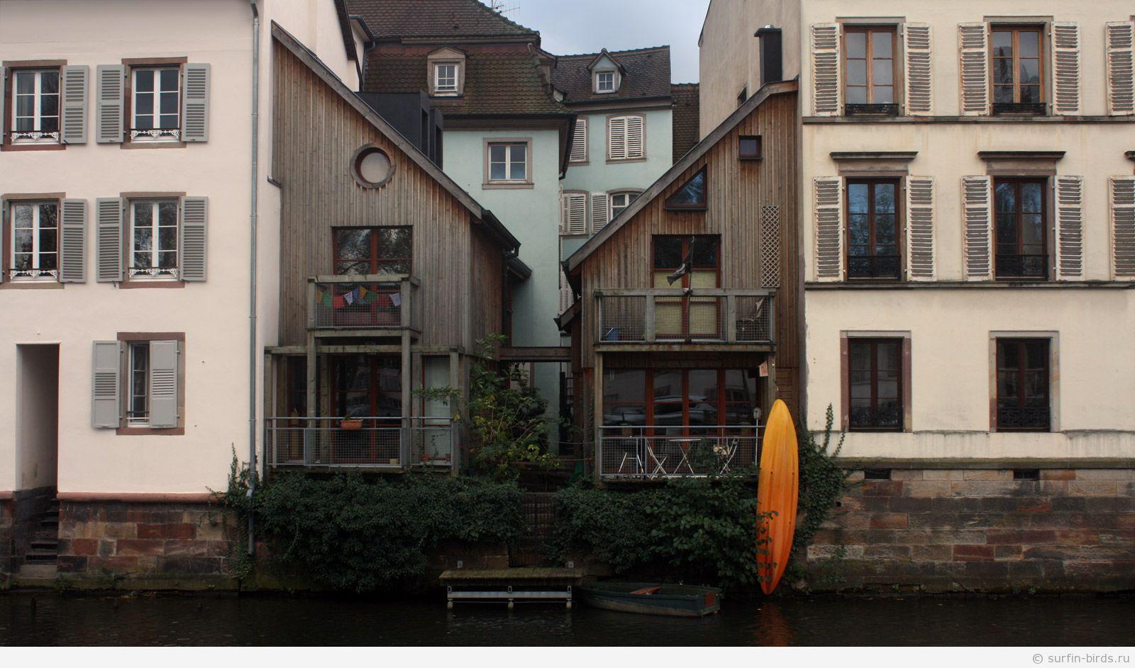 Маленькая Франция Страсбург