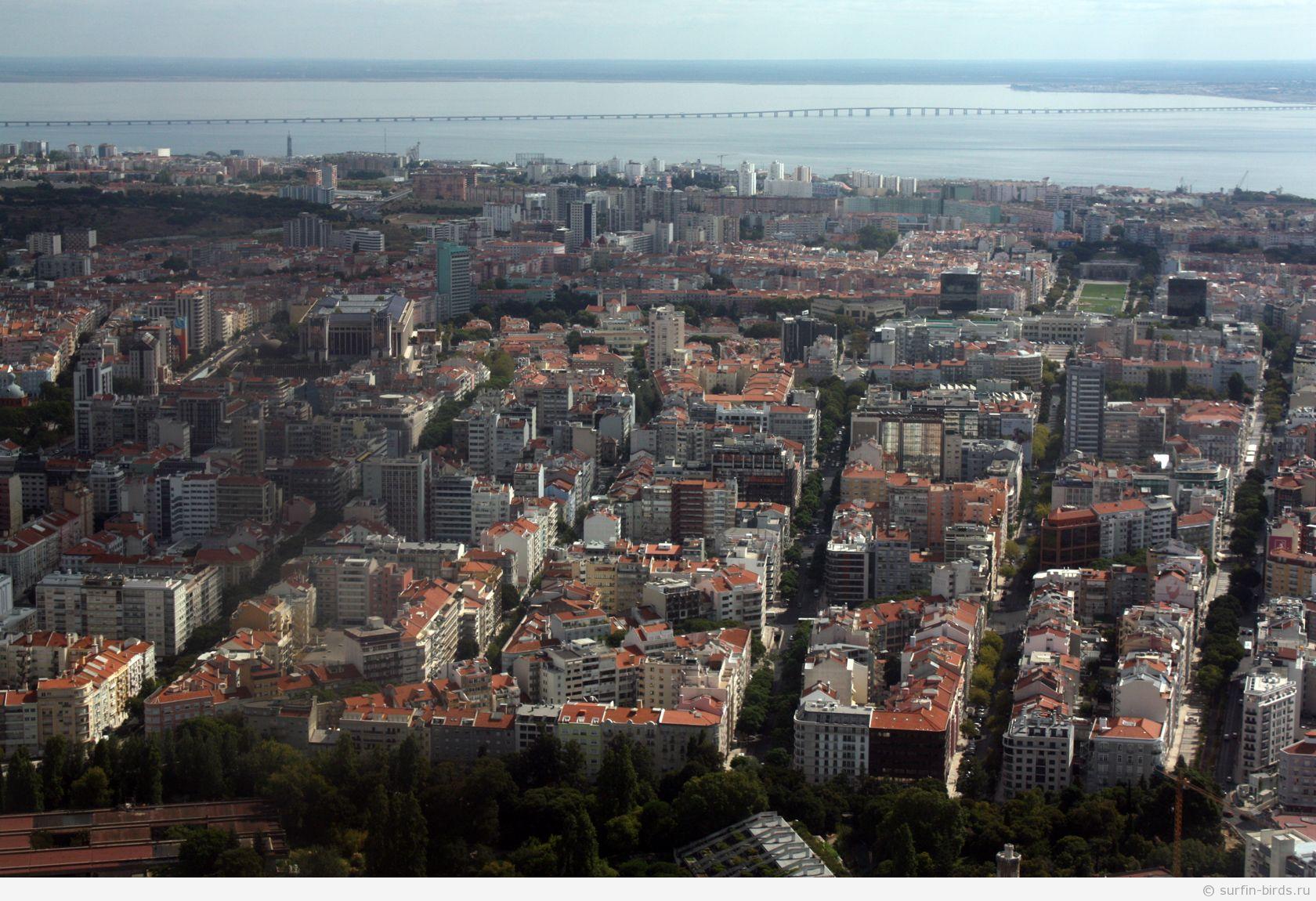 Лиссабон панорама