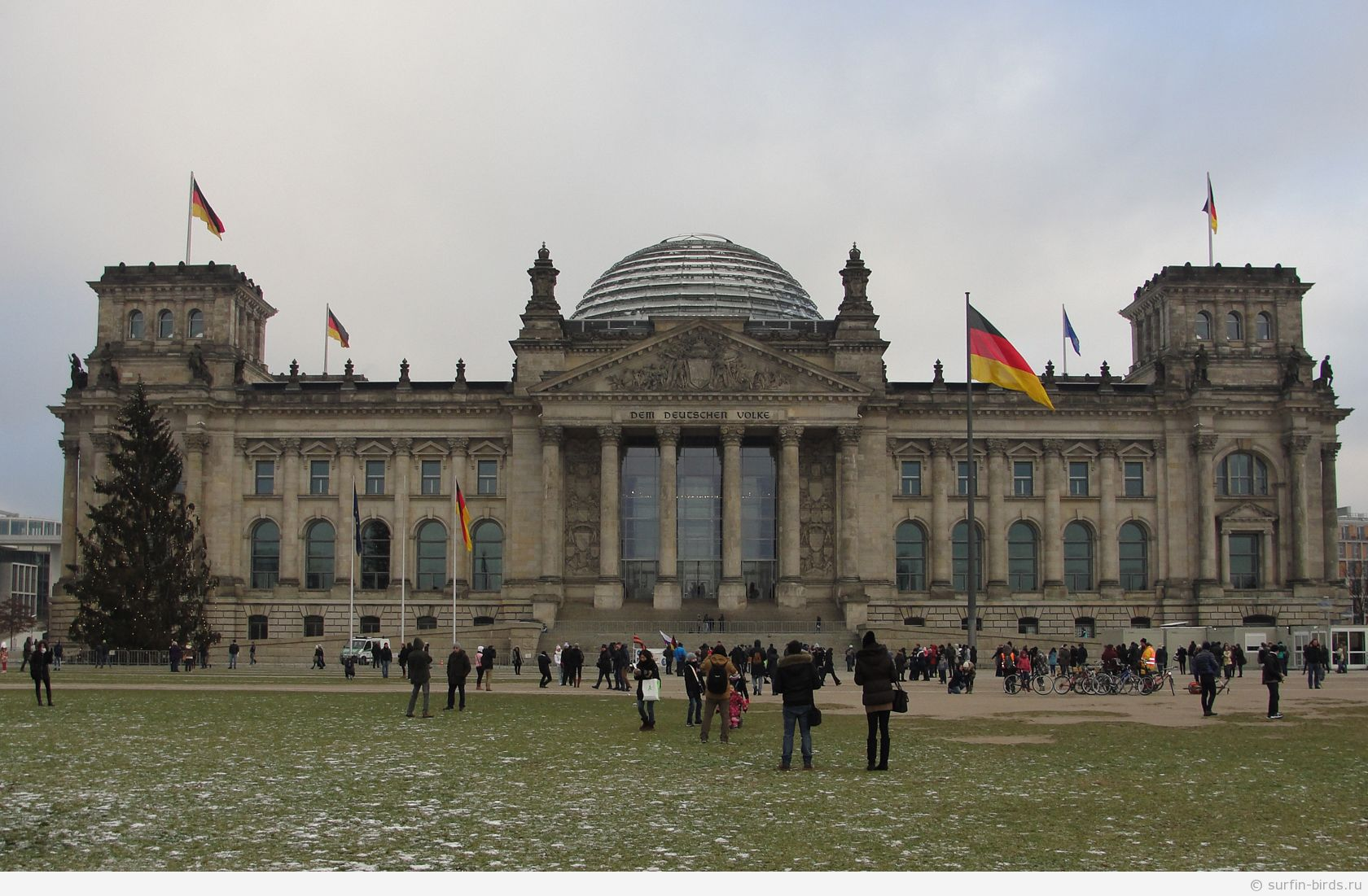 здание Рейхстага (Reichstagsgebäude)