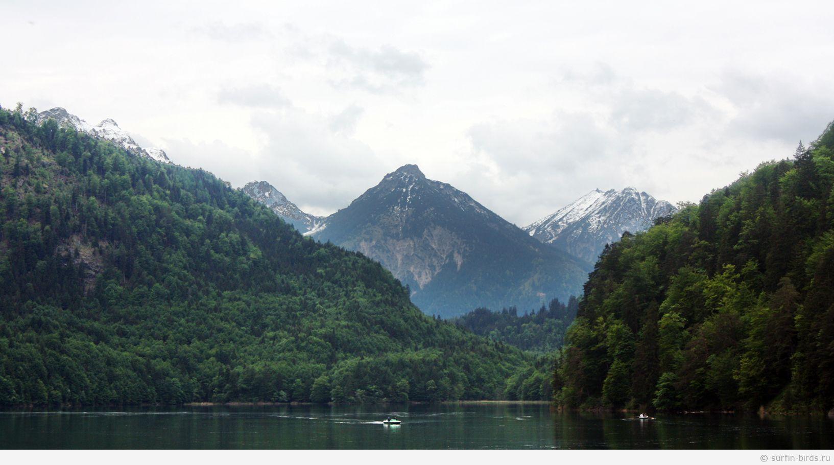 Альпийское озеро