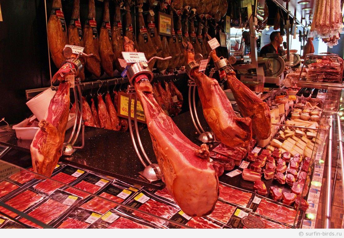 барселона рынок бокерия Mercado de La Boqueria