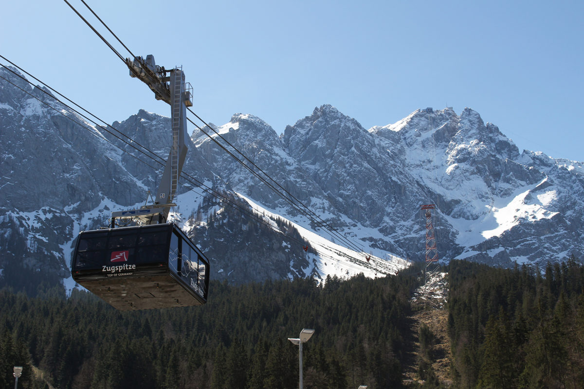 Zugspitze Фаникулер