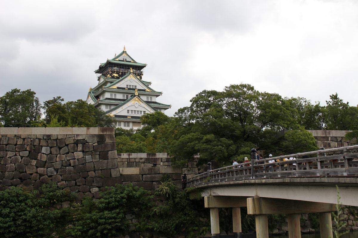 Osaka Castle Крепость Осака