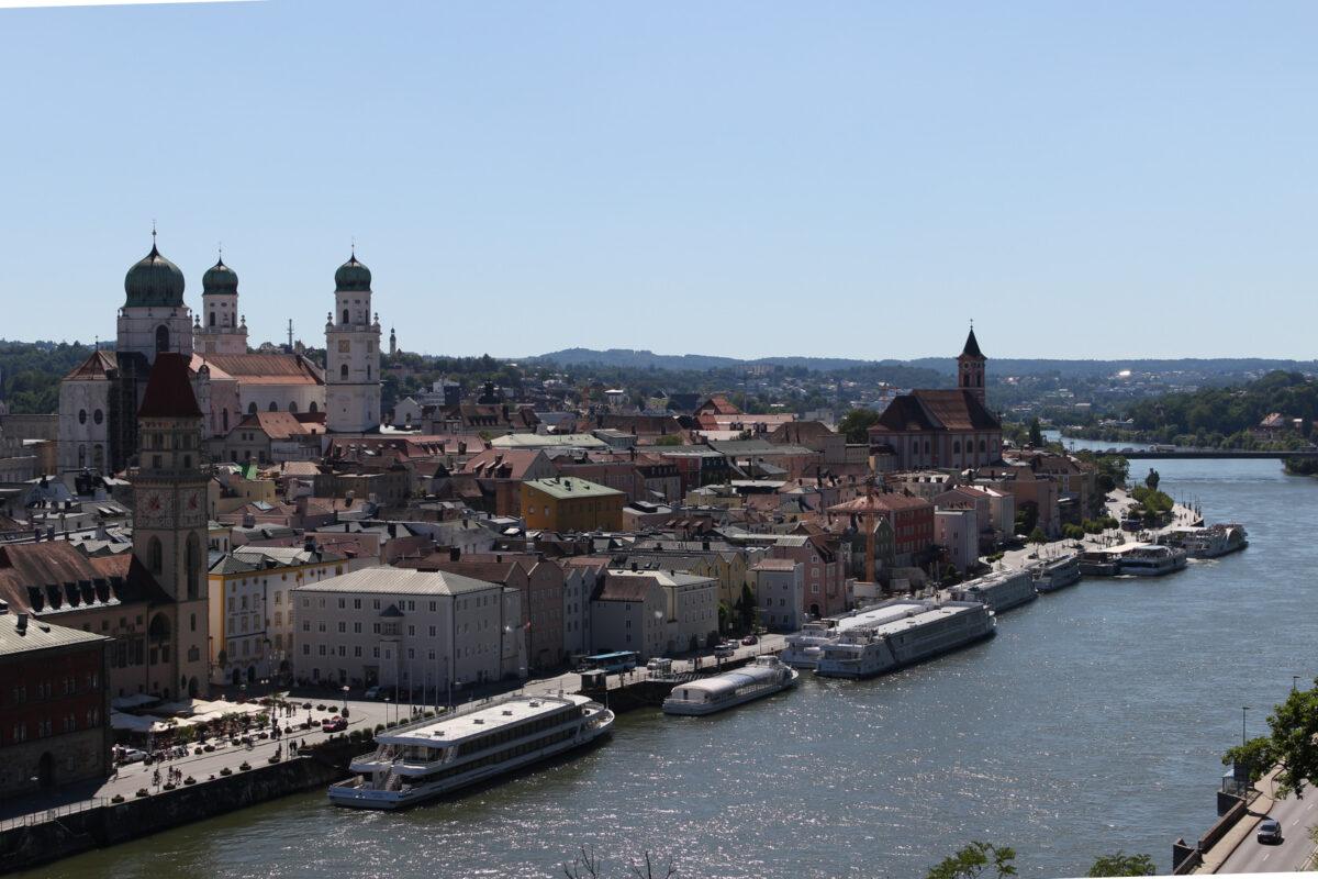 Пассау река Дунай