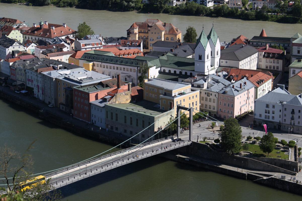 Пассау, Бавария Мост.